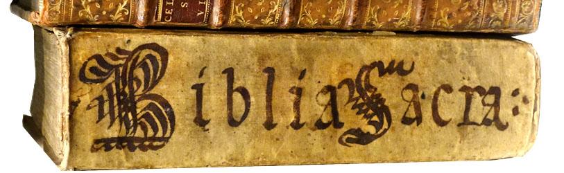 Bibbie antiche cinquecentine