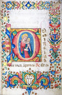 Book of hours at the use of Rome.