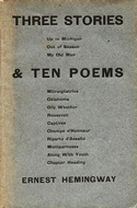 Three Stories & Ten Poems - Hemingway